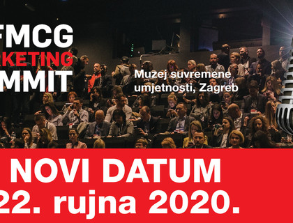 3. FMCG Marketing Summit pomaknut na 22.9.2020.
