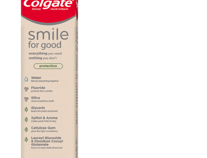 Colgate® predstavlja zubnu pastu Smile for Good