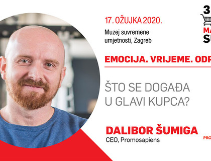 Dalibor Šumiga na trećem FMCG Marketing Summitu!