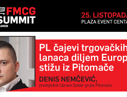 Denis Nemčević na FMCG Summit-u 2018.